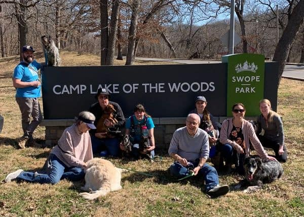 KC dog Club at Swope Park Hiking Trails